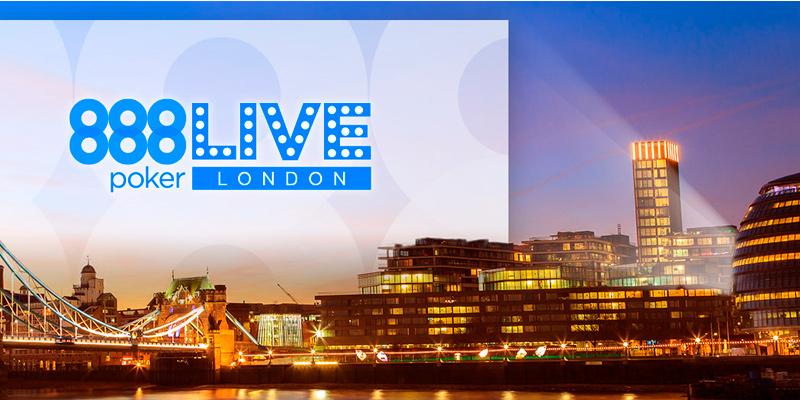 888poker live london турнир