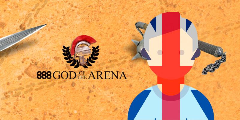 Британец выиграл $65 000 в турнире God of the Arena 888poker